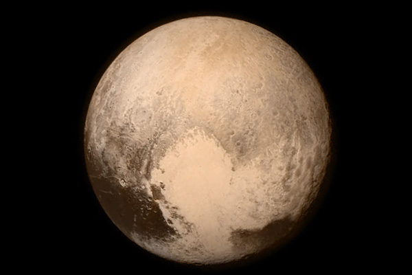 New Horizons Flyby of Pluto - CREDIT: NASA/APL/SwRI
