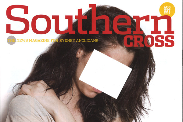 'A world of pain' - The cover of Southern Cross September 2015