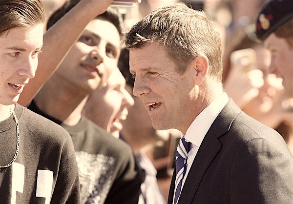 Premier Mike Baird (CREDIT: Eva Rinaldi via Flickr)